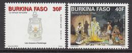 2013 Burkina Faso Lighting Complete Set Of 2 MNH - Burkina Faso (1984-...)