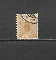 1876/900 - FRANCOBOLLO DI SERVIZIO N. 3A USATO (CATALOGO UNIFICATO) - Oblitérés