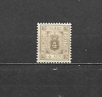 1896/1900 - FRANCOBOLLO DI SERVIZIO N. 4* (CATALOGO UNIFICATO) - Neufs
