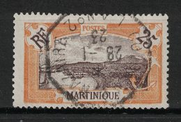 Martinique - Yvert 96 Oblitération Paquebot - Scott#75 - Oblitérés