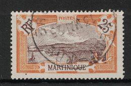 Martinique - Yvert 96 Oblitéré VERT-PRE - Scott#75 - Martinique (1886-1947)