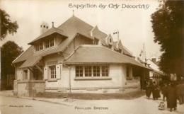 PARIS EXPOSITION DES ARTS DECORARTIFS  PAVILLON BRETON ARCHITECTE VAUGLOIS - Expositions