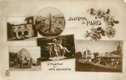 SOUVENIR DE PARIS EXPOSITION DES ARTS DECORARTIFS - Expositions