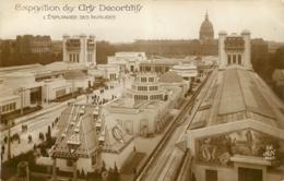 PARIS EXPOSITION DES ARTS DECORARTIFS L'ESPLANADE DES INVALIDES - Expositions