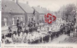 HOOGSTRAETEN - Gedenkenis Der Processie Van Het H. Bloed. Souvenir De La Procession Du Saint Sang - Carte Très Animée - Hoogstraten