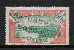 Martinique - Yvert 101 Oblitération Griffe - Scott#86 - Martinique (1886-1947)