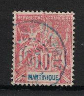 Martinique - Yvert 45 Oblitéré ST-ESPRIT En BLEU - Scott#39 - Martinique (1886-1947)