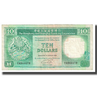 Billet, Hong Kong, 10 Dollars, 1989, 1989-01-01, KM:191a, TTB - Hong Kong