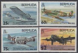 BERMUDES - 75e Anniversaire De La RAF - Bermudes