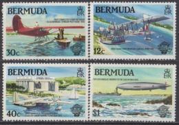BERMUDES - Bicentenaire Des Premières Ascensions De L'homme Dans L'atmosphère - Bermudes