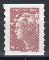 FRANCE 2011 / N° 594 1ex AUTOADHESIF 50g Lilas-brun  NEUF Xx - 2008-13 Marianne De Beaujard
