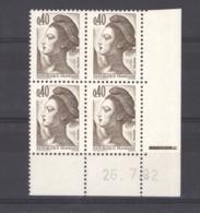 CD  416   -  France  -  Coins Datés  :  Yv  2183   **    26-7-82 - 1980-1989