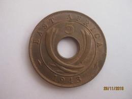 British East Africa: 5 Cents 1943 - Colonie Britannique