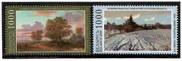 Belarus 2009 . National Museum. Paintings. 2v: 1000,1000.  Michel # 784-85 - Bielorussia