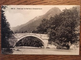 CPA, SUISSE, Pont Sur La Sarine à Grandvillard, éd Librairie Ch. Morel, Bulle, N°305 E, Non écrite - FR Fribourg