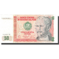 Billet, Pérou, 50 Intis, 1986, 1986-03-06, KM:131a, SPL+ - Perú