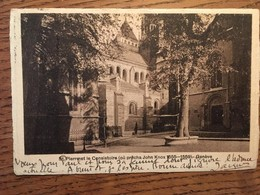 CPA, SUISSE, Genève, St Pierre Et Le Consistoire (où Prêcha John Knox,1555-1559),écrite En 1915, éd Vouga & Cie, Genève - GE Ginevra