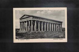 Greece 1938 Athens Interesting Postcard - Griechenland