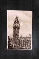 Great Britain London Interesting Postcard - Houses Of Parliament