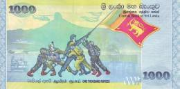 SRI LANKA P. 122a 1000 R 2009 UNC - Sri Lanka