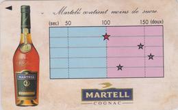 TC Japon / 110-011 - ALCOOL FRANCE - COGNAC MARTELL  - ** MOINS DE SUCRE ** Japan Phonecard Alcohol - 1047 - Werbung