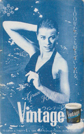 TC Japon / 330-47674 - TO CATCH A THIEF / GRACE KELLY & CARY GRANT - Japan Movie Cinema Phonecard / Monaco Rel 11796 - Cinema