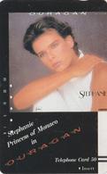 TC Ancienne Japon / 110-9809 - MUSIQUE - STEPHANIE DE MONACO ** OURAGAN ** - Japan Music Front Bar Phonecard - Cinema
