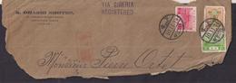 Japon - 1914 - Lettre Fragment - Via Siberia - Japon