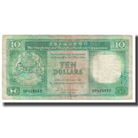 Billet, Hong Kong, 10 Dollars, 1985, 1985-01-01, KM:191a, TB - Hong Kong
