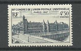 Francia 1947 ** Mnh  Yt 781  ** - Nuevos