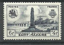 Francia 1947 ** Mnh  Yt 786  ** - Nuevos