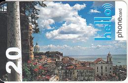 SWITZERLAND - Hello Prepaid Card CHF 20, Used - Suisse