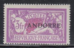 ** TIMBRES POSTE - ** - N°20 - Infime Adhérence D'angles Sinon TB - Andorre Français
