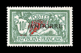** TIMBRES POSTE - ** - N°22 - 10F - Bon Centrage - TB - Andorre Français
