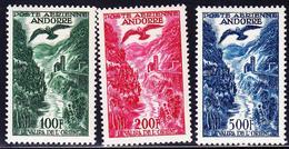 ** POSTE AERIENNE  - ** - N°2/4 - TB - Andorre Français