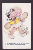 CPA Mallet Béatrice Enfants Type Bouret éditeur Oilette Tuck's Circulé Tennis - Mallet, B.