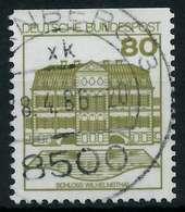 BRD DS BURGEN U. SCHLÖSSER Nr 1140CI Zentrisch Gestempelt X927086 - [7] República Federal