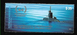 DD50-ARGENTINA 2019 SHIP U-BOT SCHIFFBRUCH SUBMARINE WRECK ARA SAN JUAN NEUF,MNH,POSTFRISCH - Ungebraucht