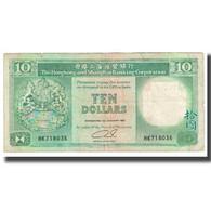Billet, Hong Kong, 10 Dollars, 1991, 1991-01-01, KM:191a, TB - Hong Kong