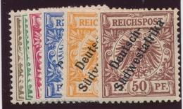 * COL. ALLEMANDES - AFRIQUEDU SUD-OUEST - * - N°7/12 - B/TB - Colony: German South West Africa
