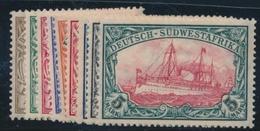 * COL. ALLEMANDES - AFRIQUEDU SUD-OUEST - * - N°26/34 - TB - Colony: German South West Africa