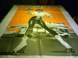 AFFICHE CINEMA  °  AMERICAN GRAFFITI - Affiches