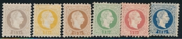 * AUTRICHE - * - N°32A/37A - Les 6 Val. - TB - 1850-1918 Empire