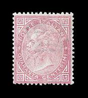 (*) ROYAUME D'ITALIE - (*) - N°19 - 40c Rose - Signé Calves - TB - 1861-78 Victor Emmanuel II.