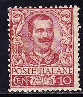 * ROYAUME D'ITALIE - * - N°34 - 10c Carmin - Gomme Brunnie - Sinon TB - 1861-78 Victor Emmanuel II.