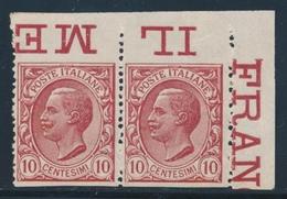 ** ROYAUME D'ITALIE - ** - N°77 - CDF - ND Marge Sup. - TB - 1861-78 Victor Emmanuel II.