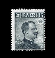 ** ROYAUME D'ITALIE - ** - N°82 - 15c Gris Noir - TB - 1861-78 Victor Emmanuel II.