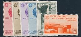 * ROYAUME D'ITALIE - * - N°368/73 - TB - 1861-78 Victor Emmanuel II.