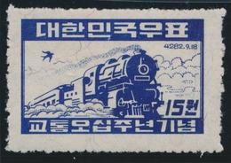 ** COREE - ** - N°43 - Chemin De Fer - TB - Corea (...-1945)
