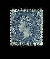 * St VINCENT - * - N°9 - 1s Bleu - TB - St.Vincent (...-1979)